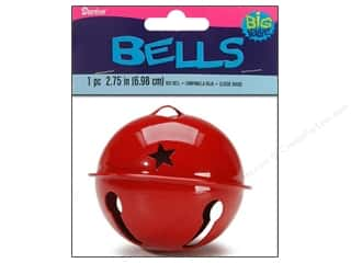 Bells Red: Darice Jingle Bells 2 3/4 in. Red 1 pc.