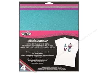 Tulip Iron On Transfer Sheet Shimmer Urban 4pc