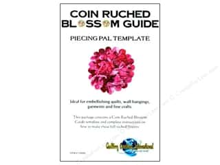 Quilting Creations Ruching Guides: Quilting Creations Ruching Guide Piecing Pal Coin Blossom