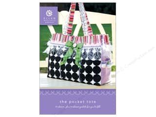 Ellen Medlock LLC Clearance Crafts: Ellen Medlock The Pocket Tote Pattern