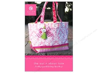 Ellen Medlock LLC Red: Ellen Medlock The Out n About Tote Pattern