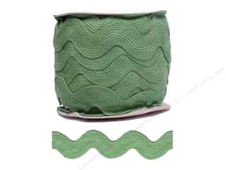 Jumbo Ric Rac by Cheep Trims  1 13/32 in. Spring Moss (24 yards)