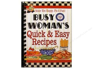 Cookbook Resources LLC Kitchen: Cookbook Resources Books Busy Woman Quick & Easy Recipes Book