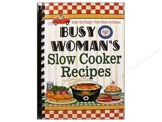Cooking/Kitchen Books & Patterns: Cookbook Resources Books Busy Woman Slow Cooker Recipes Book