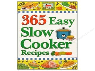Food Books: Cookbook Resources Books 365 Easy Slow Cooker Recipes Book