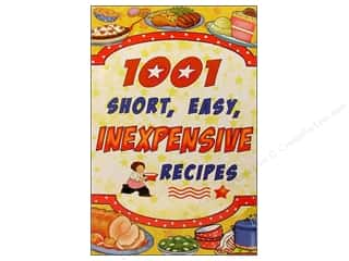 1001 Short Easy Inexpensive Recipes Book