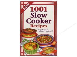 Cooking/Kitchen Books & Patterns: Cookbook Resources Books 1001 Slow Cooker Recipes Book