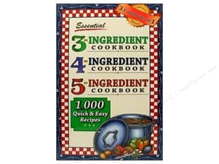 Cooking/Kitchen Books & Patterns: Cookbook Resources Books 3-4-5 Ingredient Cookbook Book