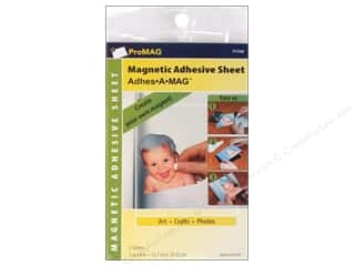 "ProMag Magnet Sheets with Adhesive 4""x 6"" 4pc"