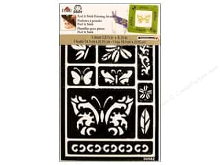 Insects Stencils: Plaid Stencil FolkArt Peel & Stick Butterfly