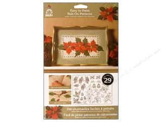 Weekly Specials: Plaid Rub-On Folkart Easy Paint Ptrn Winter Story