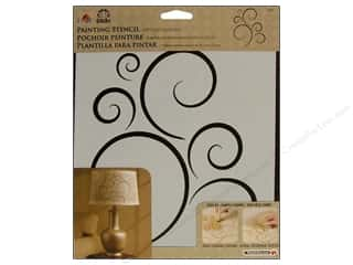 Stencils Stencil Accessories: Plaid Stencil FolkArt Painting Simply Scroll