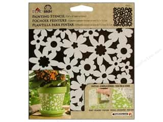 Stenciling Paints: Plaid Stencil FolkArt Painting Ditsy Floral