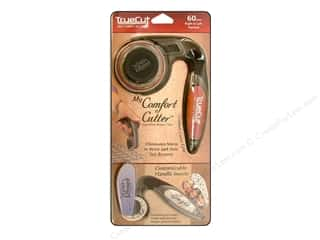 Clamps Scissors & Rotary Cutters: TrueCut Rotary Cutter My Comfort Cutter 60 mm