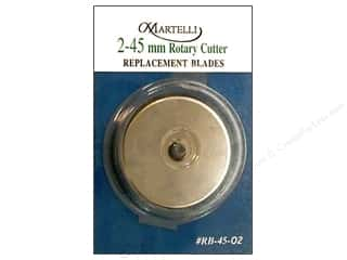 Stock Up Sale Rotary Blades: Martelli Rotary Cutter Blade 45mm 2pc