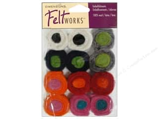 Dimensions Feltworks 100% Wool Felt Sushi