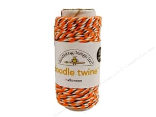 Halloween paper dimensions: Doodlebug Doodle Twine 20 yd. Halloween