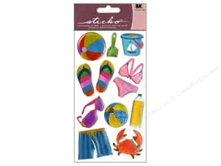 Paper Accents Summer Fun: EK Sticko Stickers Sparkler Summer Fun