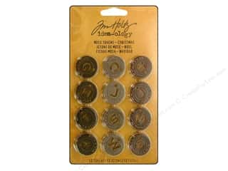 Tim Holtz Idea-ology Muse Tokens Christmas (3 set)