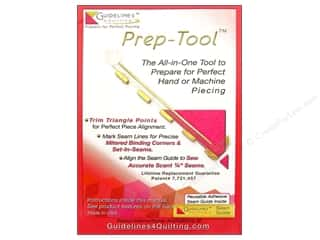 "Guidelines 4 Quilting 4"": Guidelines 4 Quilting Tools Prep Tool"