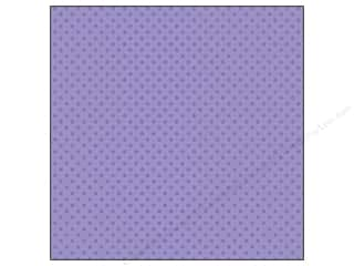 Clearance Doodlebug Glitter: Doodlebug Paper 12 x 12 in. Sugar Coated Dot Lilac (25 sheets)