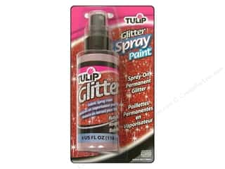 Tulip Glitter Fabric Spray Paint 4 oz. Ruby