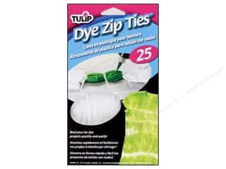 Tulip Tie Dye Accessories Zip Ties 6 in. 25pc