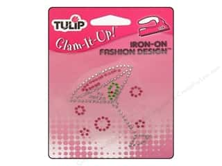 Tulip Irons: Tulip Iron On Glam It Up Fashion Design Martini Glass 2 x 2.5 in.