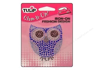 Tulip Iron On Glam It Up Fashion Design Owl