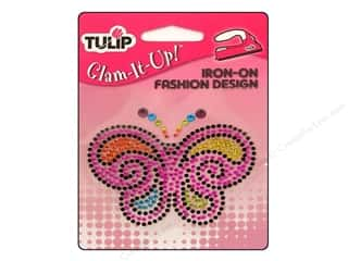 Tulip Irons: Tulip Iron On Glam It Up Fashion Design Bright Butterfly
