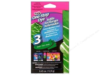 Chatelaines: Tulip One Step Dye Powder Refill Green 0.45oz
