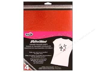 Tulip Iron On Transfer Sheet Shimmer Twilight 4pc