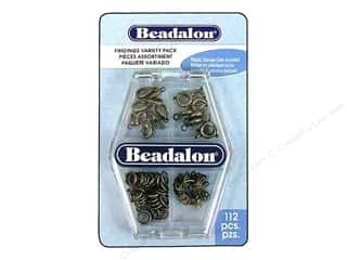 beadalon clasp: Beadalon Miscellaneous Findings VP Ant Slvr 112pc