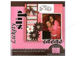 $0-$3 Books Clearance: Bazzill Lickety Slip Idea Book