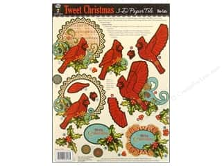 Hot Off The Press Die Cut Papier Tole TwtChristmas