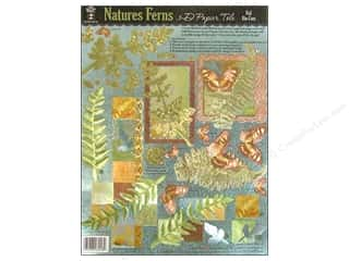 Hot Off The Press Die Cut Papier Tole Natures Fern