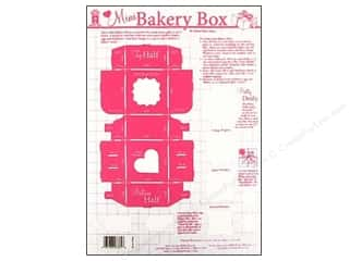 Hot Off The Press Templates Mini Bakery Box