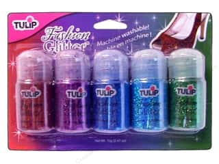Tulip Fashion Glitter .49oz Jewels Assorted 5pc
