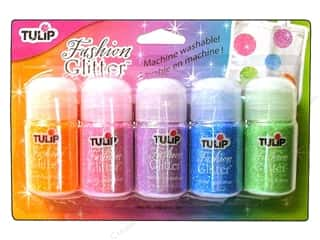 Tulip Fashion Glitter .49oz Neon Assorted 5pc