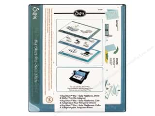 Cutting Mats: Sizzix Big Shot Pro Solo Platform, Shim & Wafer Adapter