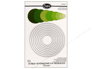 Dies The Crafters Workshop Metal Die: Sizzix Framelits Die Set 8 PK Circles