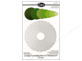 Sizzix Die Framelits Set Circles Scallop