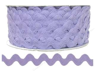 Ribbon Work Tapes: Ric Rac by Cheep Trims  1/2 in. Light Orchid (24 yards)