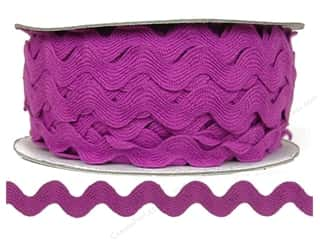 Ric Rac by Cheep Trims  11/16 in. Magenta