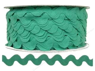 "Cheep Trims Ric Rac 11/16"": Ric Rac by Cheep Trims  11/16 in. Aqua (24 yards)"