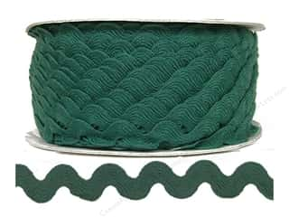 Rick Rack / Ric Rac: Ric Rac by Cheep Trims  11/16 in. Surf (24 yards)