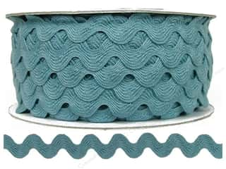 Ric Rac by Cheep Trims  11/16 in. Dusty Blue (24 yards)