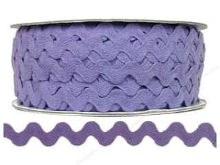 "Cheep Trims Ric Rac 11/16"": Ric Rac by Cheep Trims  11/16 in. Light Orchid (24 yards)"