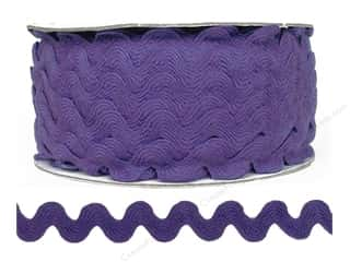 "Cheep Trims Ric Rac 11/16"": Ric Rac by Cheep Trims  11/16 in. Hyacinth (24 yards)"