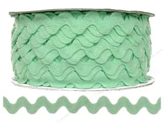 Ribbon Work Tapes: Ric Rac by Cheep Trims  11/16 in. Mint (24 yards)
